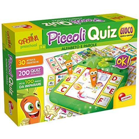 Lisciani Giochi Carotina Piccoli Quiz Alfabeto e Parole